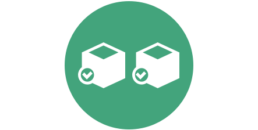 Amazon inventory management boxes icon
