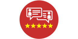 5-star review management icon